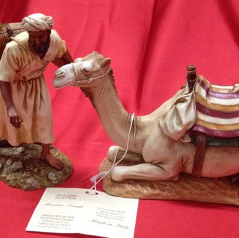 Aguador y camellero 20cm Martino Landi