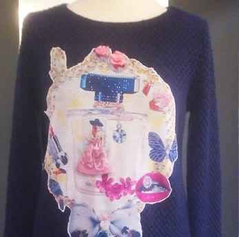 Jersey de punto customizado, Yana Bereza Diseños