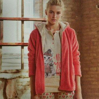 Conjunto Bata + Pijama Promise