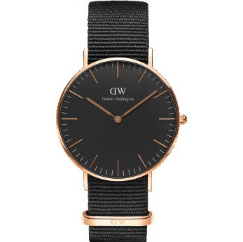 Reloj Daniel Wellington Classic Black Cornwall 36mm.