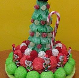 Tarta de Gominolas Navidad