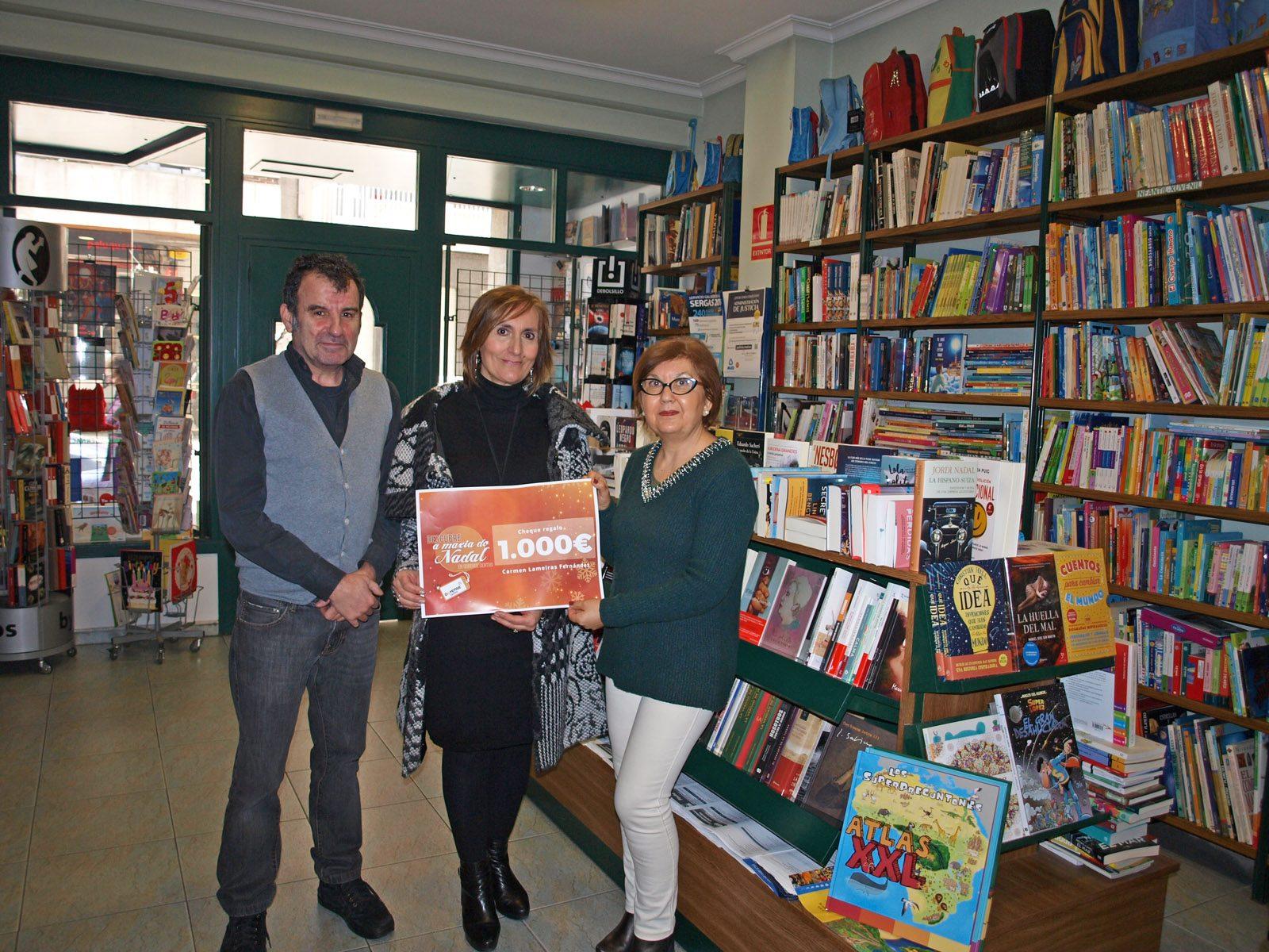 Premiada cheque 1000€ Ourense