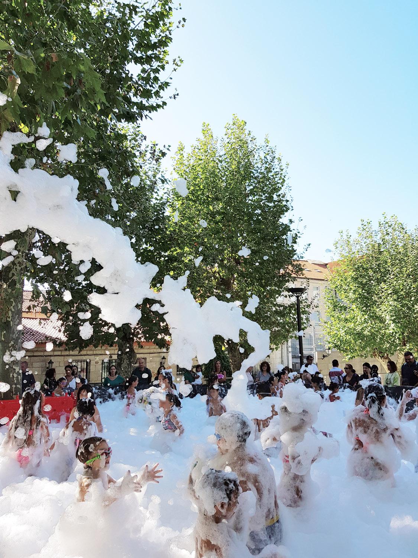 Fiesta de la espuma Ourense 2019