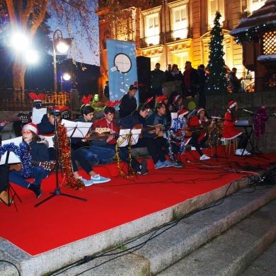 Villancicos en directo nas rúas de Ourense Centro