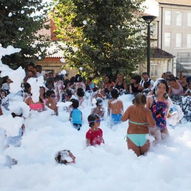 Fiesta de la espuma infantil Ourense 2018