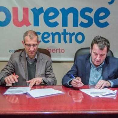 Firma convenio CCA Ourense Centro, Prom sistemas informáticos