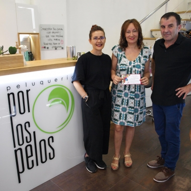 Entrega de premios En estas fiestas cómete Ourense Centro