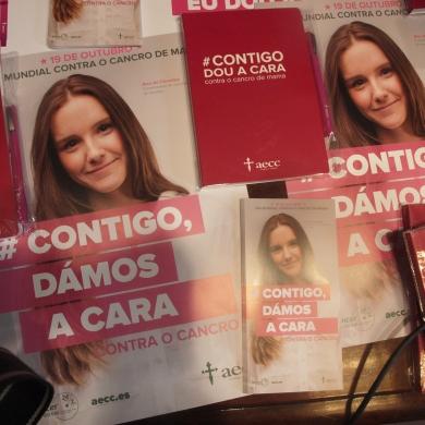Presentación de la campaña Aecc Ourense