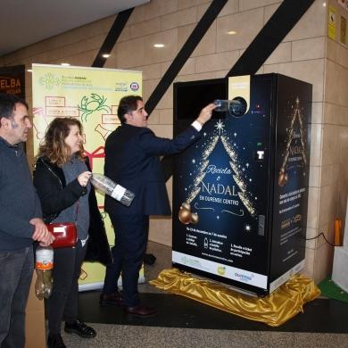 Recicla o nadal en Ourense Centro