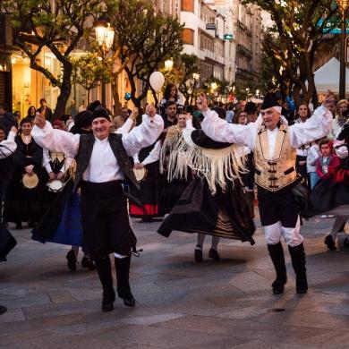 Escuela provincial de Danza Castro-Floxo  - Shopping Night Ourense 2019