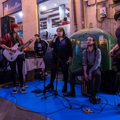 Concierto Bowie's Slaves - Shopping Night Ourense 2019