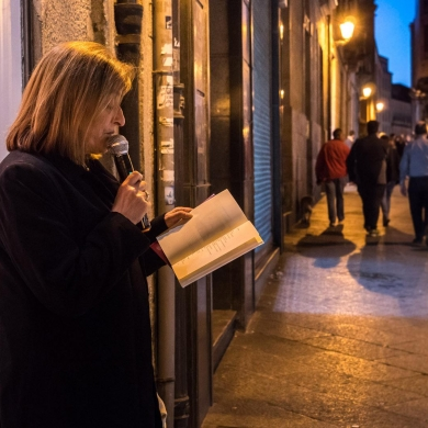 Círculo poético Ourensano - Shopping Night Ourense 2019