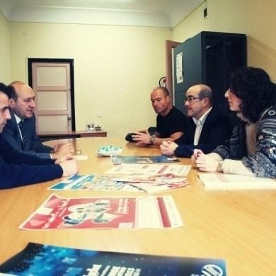 Visita do delegado territorial da Xunta, Rogelio Martínez