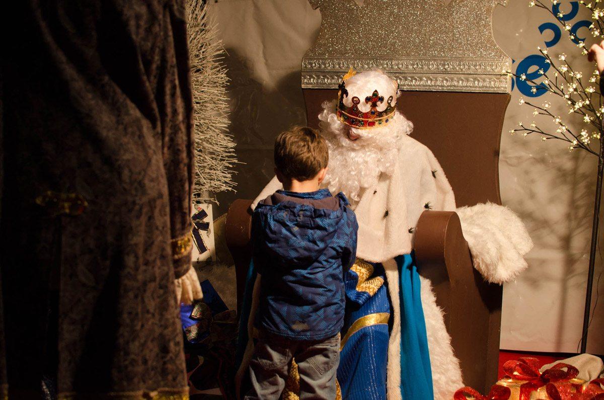 Visita reyes magos ourense
