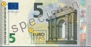 Nuevo billete de 5€