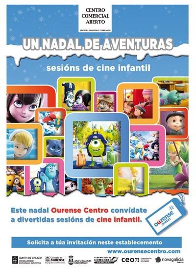 """Un nadal de Aventuras"" - Sesiones de cine infantil"