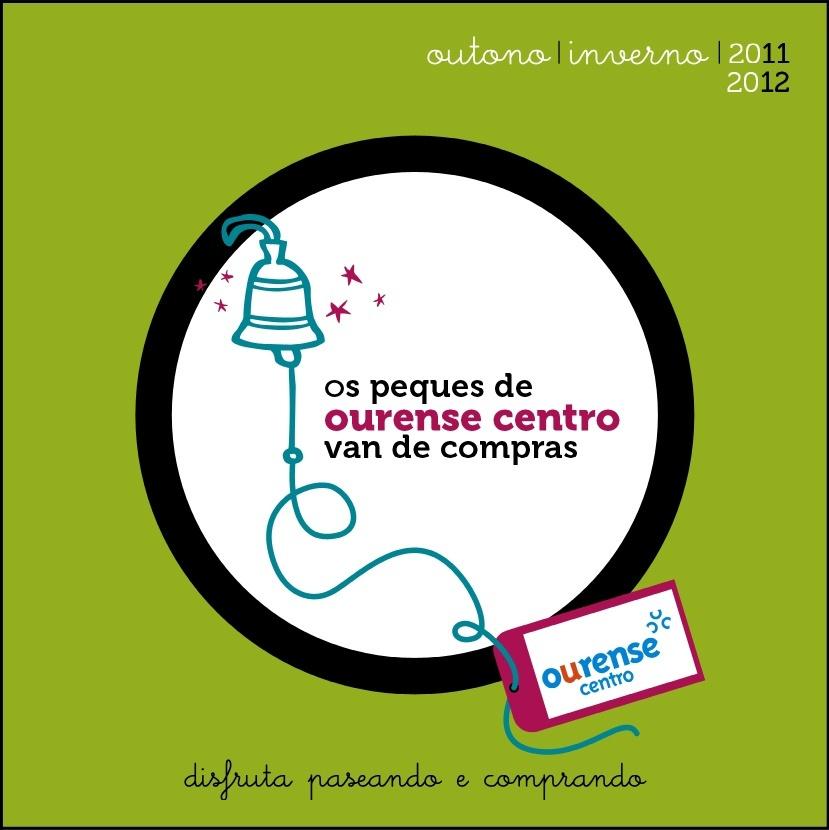 Ourense centro presenta un catálogo de productos promocionados por hijos de comerciantes asociados.