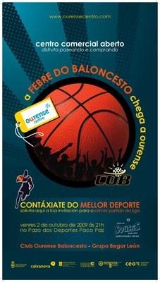 """Presentación Campaña """"COB - CCA Ourense Centro"""""""