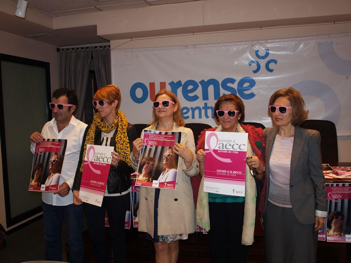 Colaboración entre el CCA Ourense Centro y la AECC de Ourense