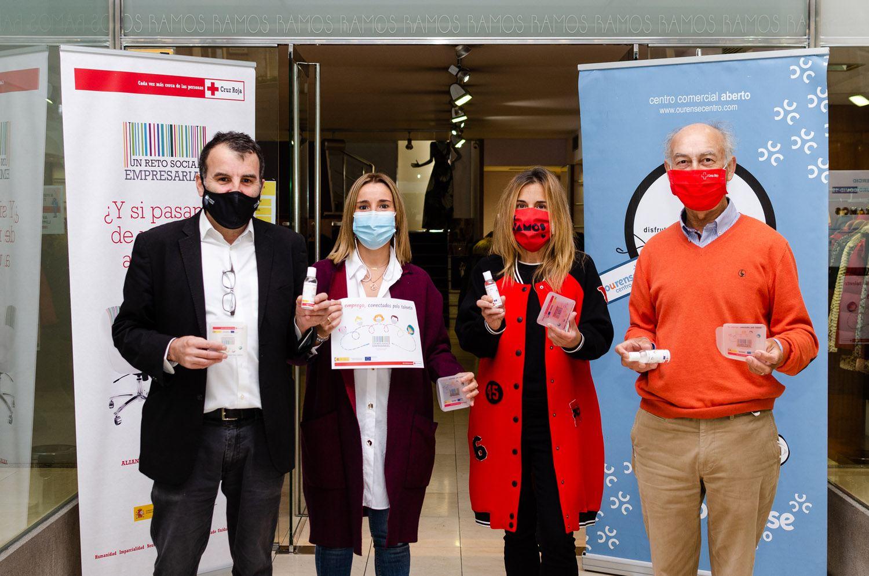 Centro Comercial Aberto Ourense Centro colabora con Cruz Roja en la promoción de la igualdad en el ámbito laboral