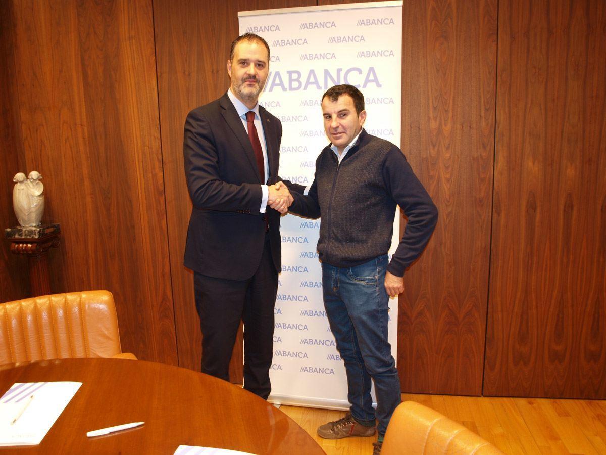 Abanca y CCA Ourense Centro se alían para impulsar el comercio local