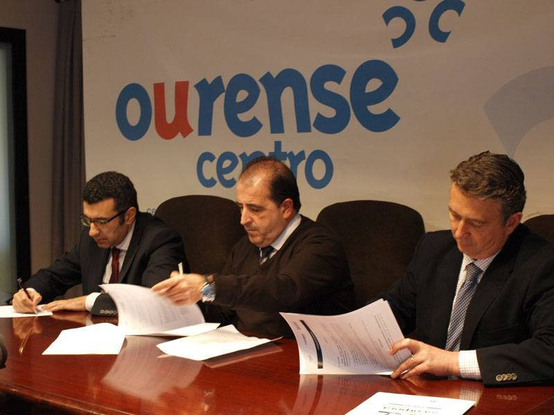 """""""La Caixa"""" y el CCA Ourense fomentarán la contratación de personas en riesgo de exclusión"""