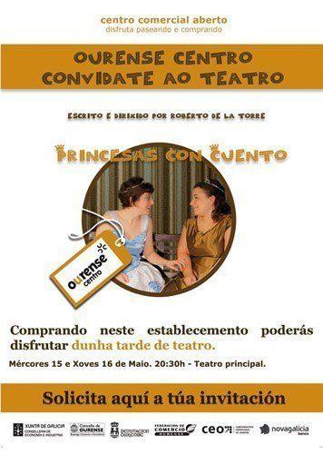 CCA Ourense Centro convidate ao teatro.
