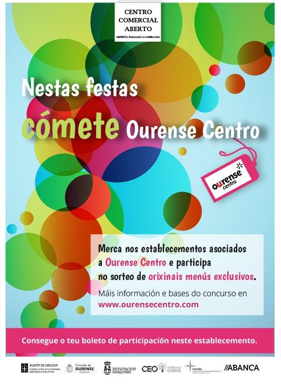 Cómete Ourense Centro - Fiestas de Ourense  2017