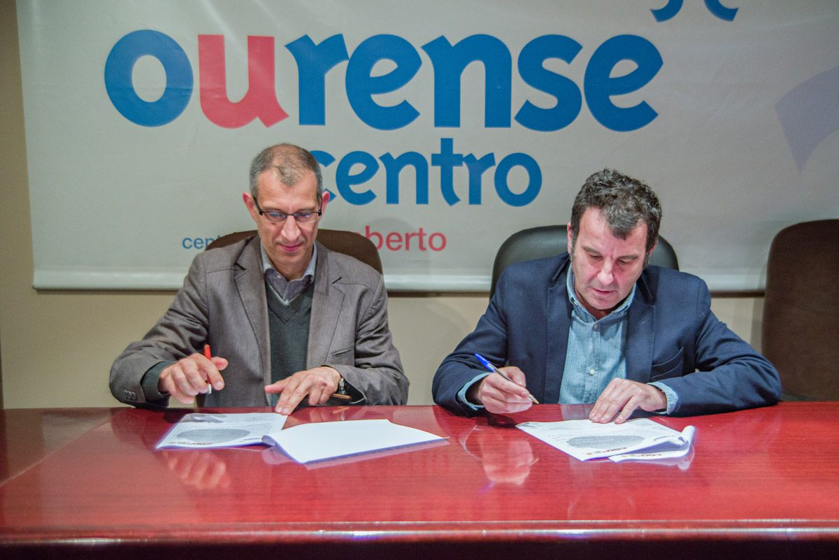 Nuevo convenio entre CCA Ourense Centro y Prom Sistemas Informáticos.