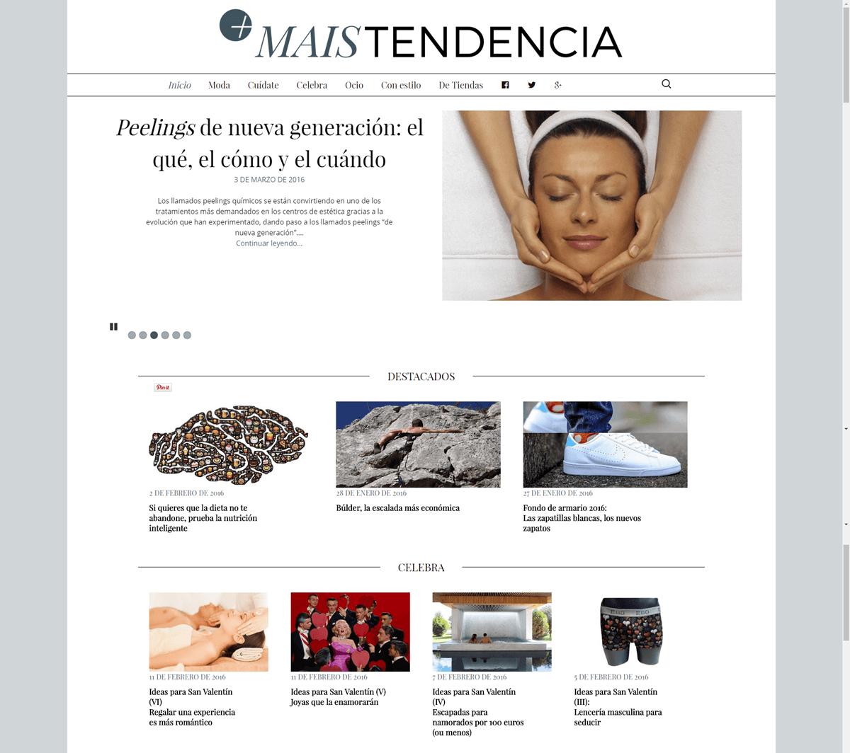 CCA Ourense Centro crea MAISTENDENCIA, un blog plurisectorial de moda y tendencias en Ourense