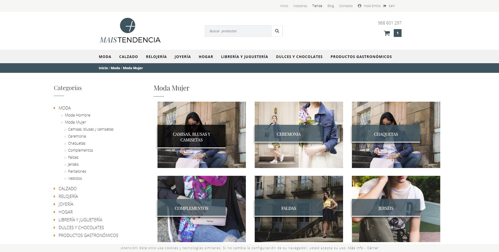 Nueva web venta Online CCA Ourense Centro