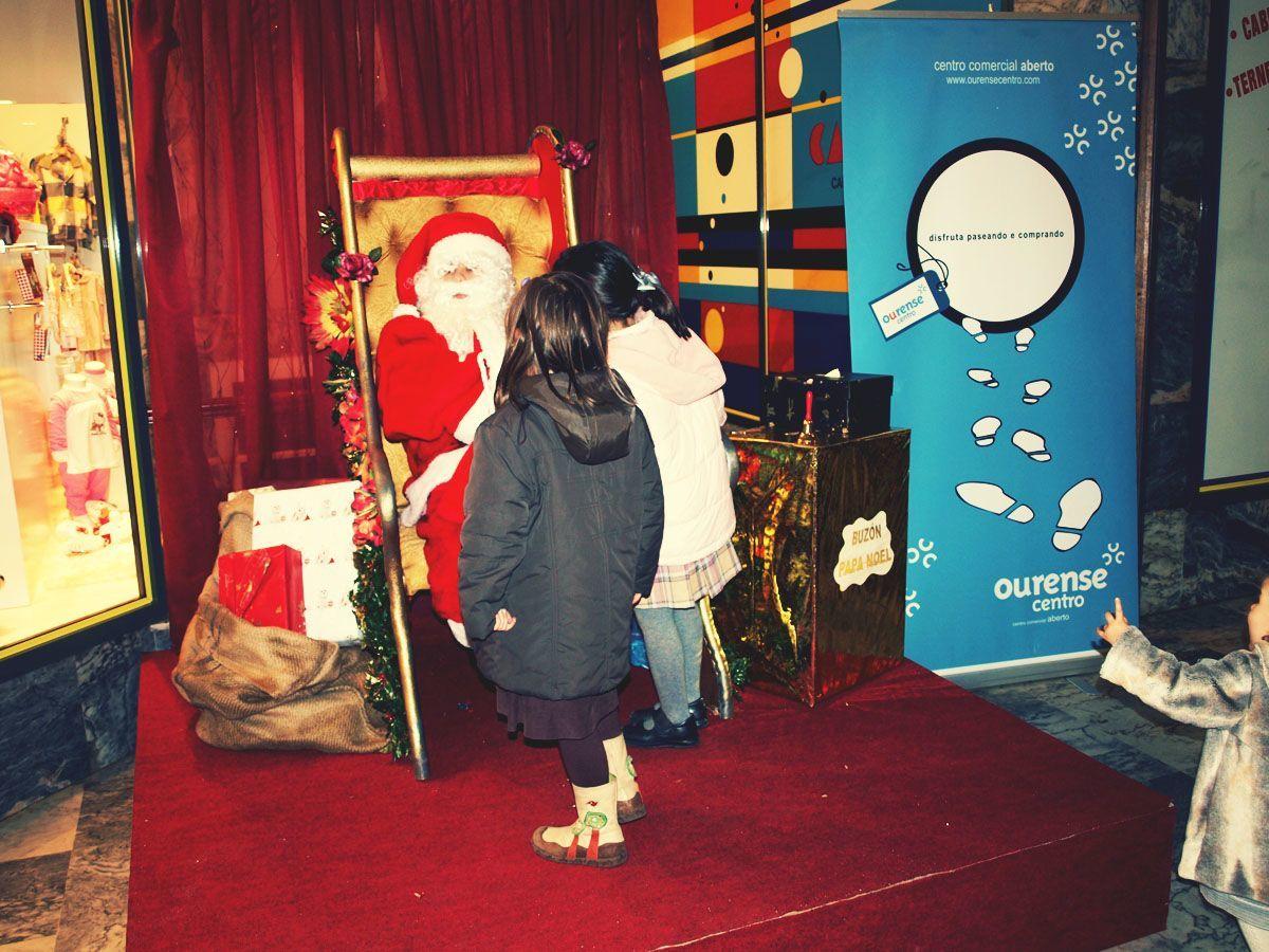 Más de 3.000 niños pasaron por las galerías comerciales durante estas navidades