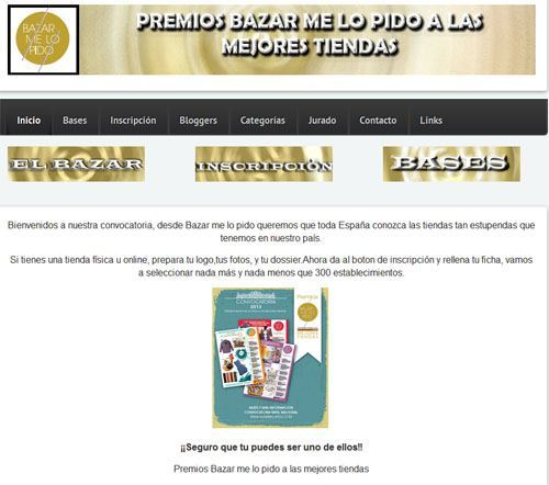 Premios Bazarmelopido a las mejores tiendas