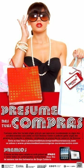 Presume das túas compras en Ourense
