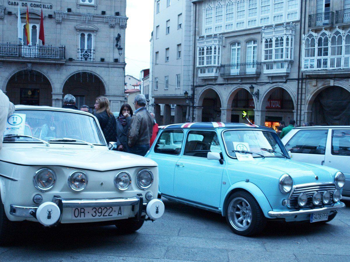 O III Rallye Solidario converteu Ourense na capital galega do motor clásico