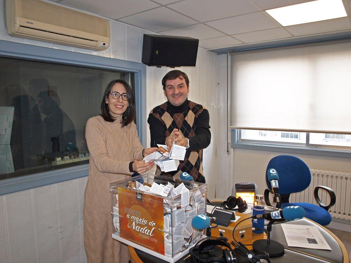 Premiados campaña de Navidad CCA Ourense Centro 2019