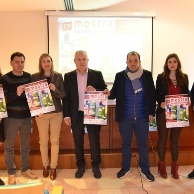 12 establecimientos de CCA Ourense Centro participan en la 23 Mostra da Oportunidade en Expourense