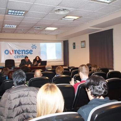CCA Ourense Centro presento a los socios las nuevas campanas de dinamizacion comercial
