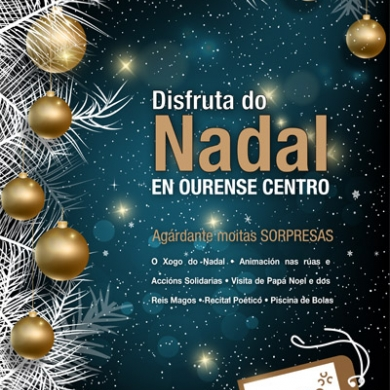 Campana Navidad Ourense Centro 2017