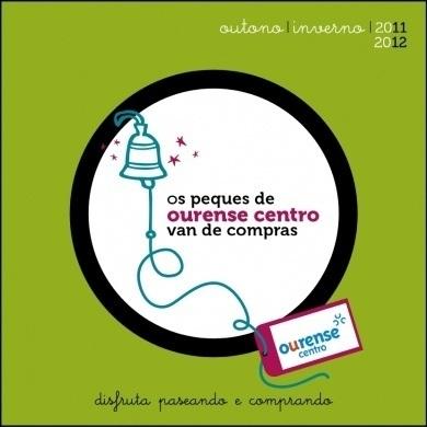 Ourense centro presenta un catalogo de productos promocionados por hijos de comerciantes asociados.