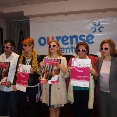 Colaboracion entre el CCA Ourense Centro y la AECC de Ourense