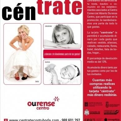 Centrate para las compras de tu boda en Ourense