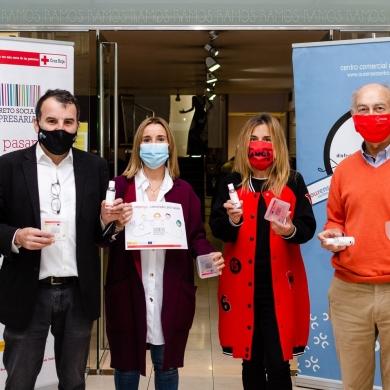 Centro Comercial Aberto Ourense Centro colabora con Cruz Roja en la promocion de la igualdad en el ambito laboral