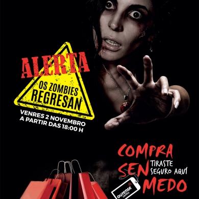 Los zombies amenazan de nuevo Ourense Centro