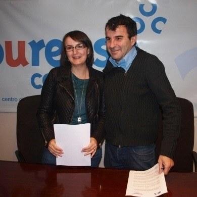 Convenio de colaboracion entre CCA Ourense Centro e Discafis-COGAMI