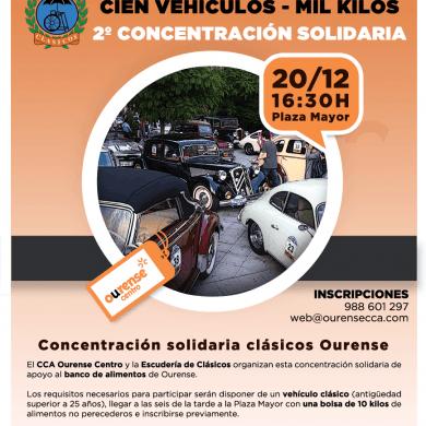 """Inscripciones Concentración Solidaria """"Cien vehículos - Mil kilos"""""""