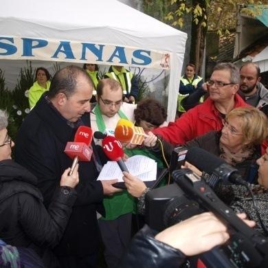 Ourense Centro y Aspanas apuestan por un Nadal solidario y de conciencia ecológica