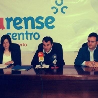 Convenio entre Ourense Centro e Galprofor
