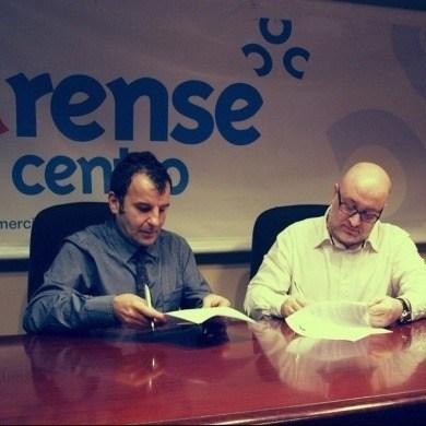 Convenio CCA Ourense Centro con Polígono Virtual de Galicia