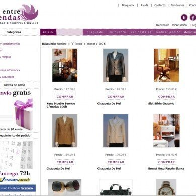 Entretiendas.com Escaparate del comercio local Ourense